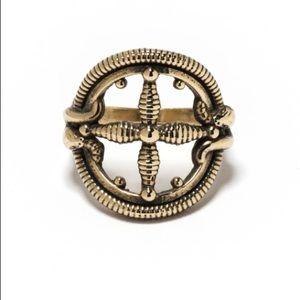 Pamela Love Sueño Ring in Brass